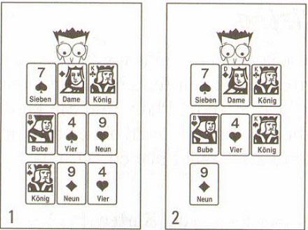 Der Aufbau eines Kartenspiels - hilfreiche Information3