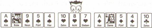 Konzept und Strategie von Herzeln - gute Kartenspiele30
