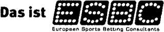 ESBC, Online Sportwetten ist ja kein Glückspiel oder