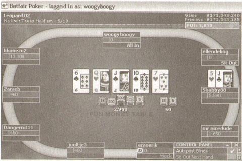 Betfair Poker 57