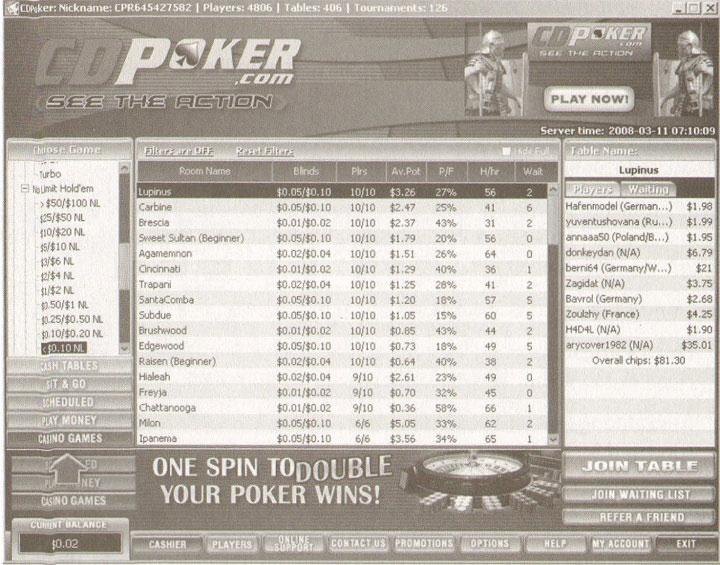 CD Poker58