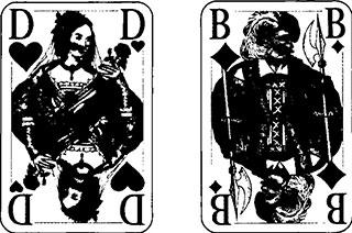 Binokel Spielkarten, Taktik und Spielverlauf11