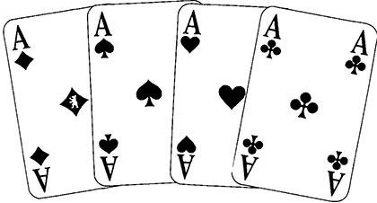 Fünfhundert Spielkarten und Spielverlauf34