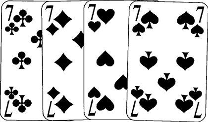 High und Hurrikan Spielkarten und Spielverlauf41