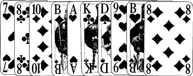 Preference Spielkarten und Spielverlauf55