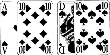 Black Jack kostenlos spielen Spielkarten und Spielverlauf13