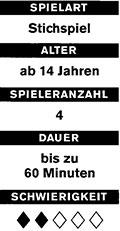 Böhmischer Schneider und Brandeln Spielkarten und Spielverlauf16