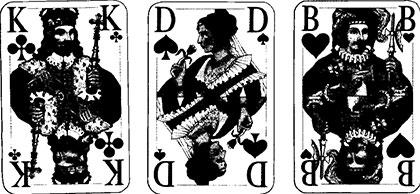 Auktion Spielkarten und Spielverlauf 5