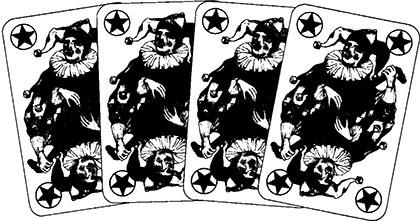 Persisches Romme und Gin-Romme Spielverlauf und Taktik 62